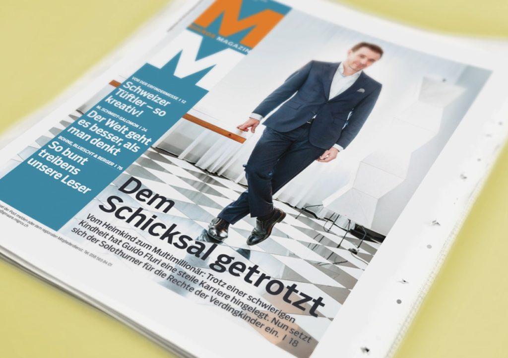 Migros-Magazin Guido Fluri