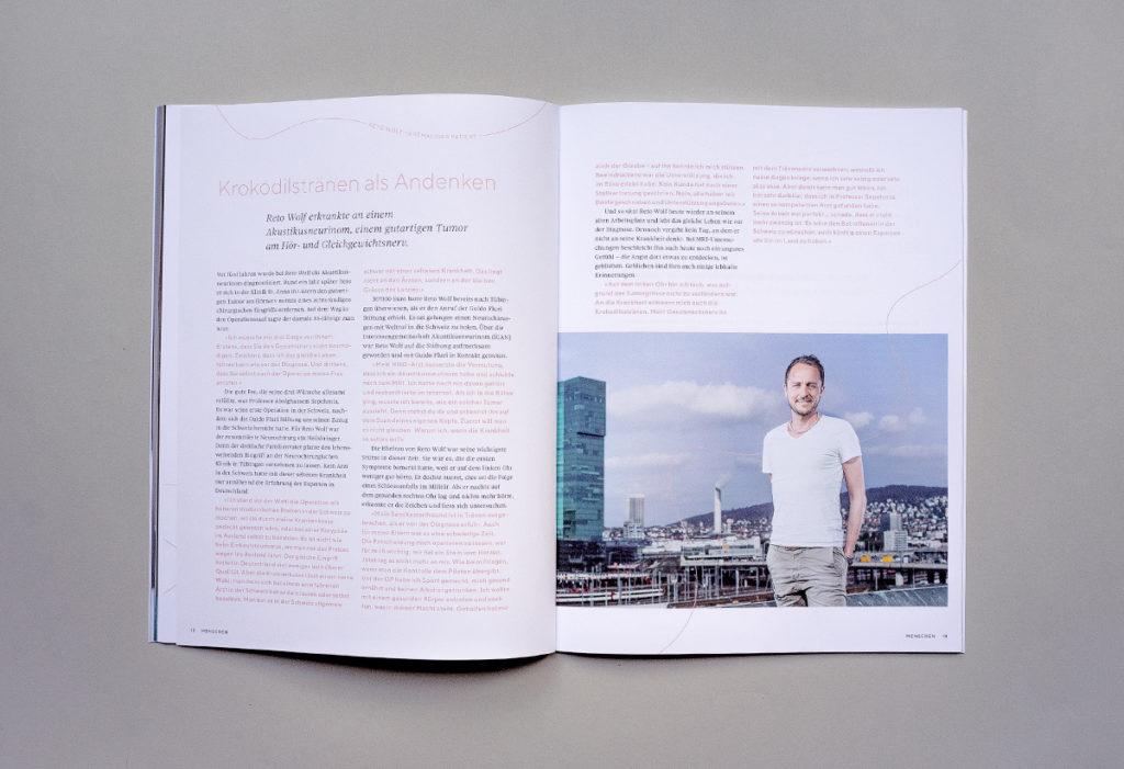Magazin der Guido Fluri Stiftung