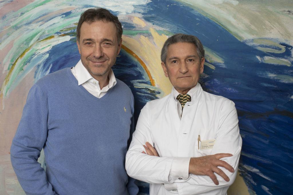 Guido Fluri und Prof. Abolghassem Sepehrnia